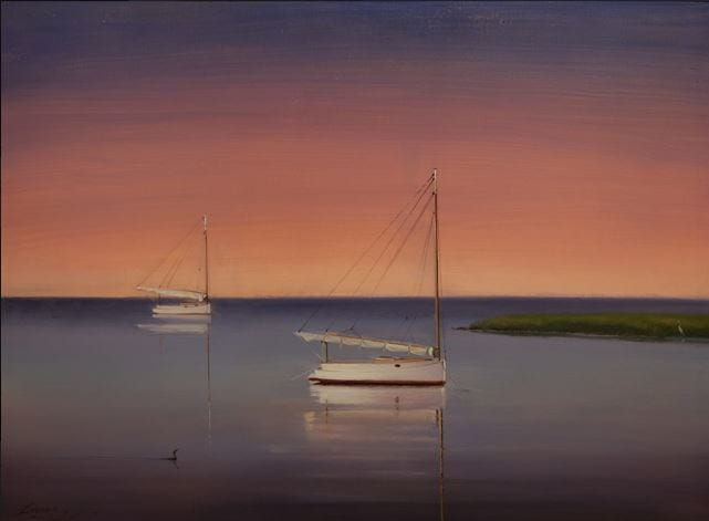 Peter Layne Arguimbau - Evening Reflections