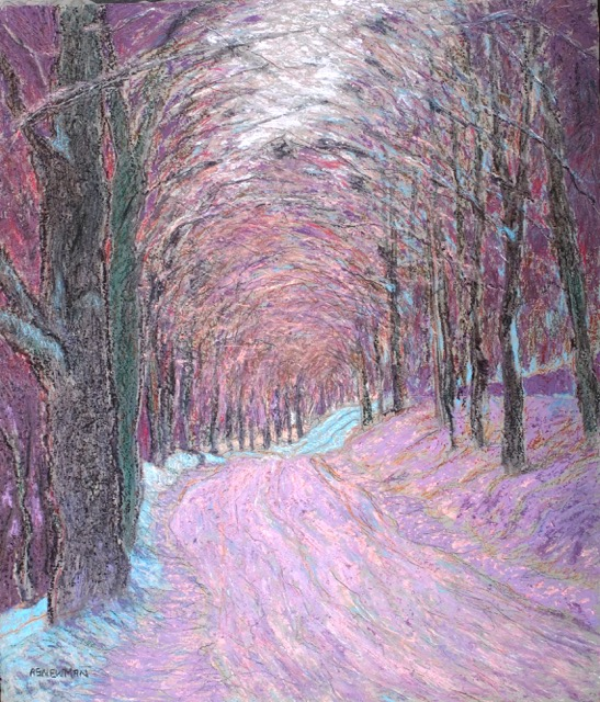 Andy Newman - Kibling Hill Road (winter)