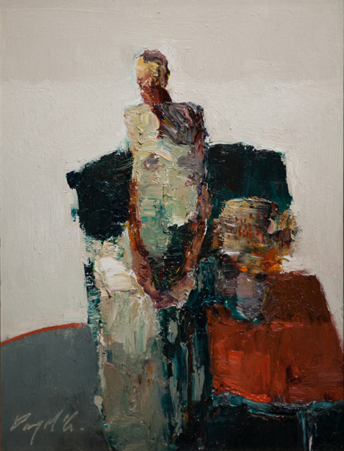 Danny McCaw - Figure with Flowers