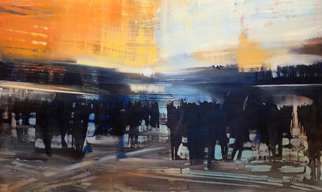 David Dunlop - City Life in the Station
