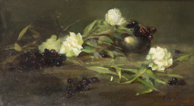 Jacqueline Kamin - Roses and Grapes
