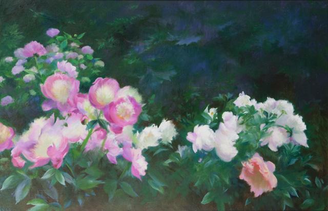 Jean Lightman - Garden by the Woods