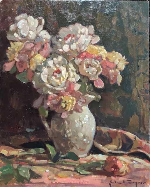 John C. Traynor - Peony Bouquet