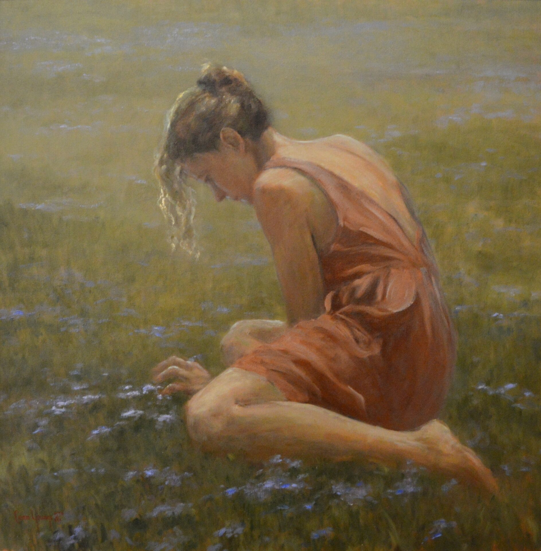 Shirley Cean Youngs - Among the Violets