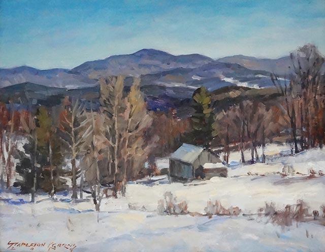 Stapleton Kearns - Winter Cabin