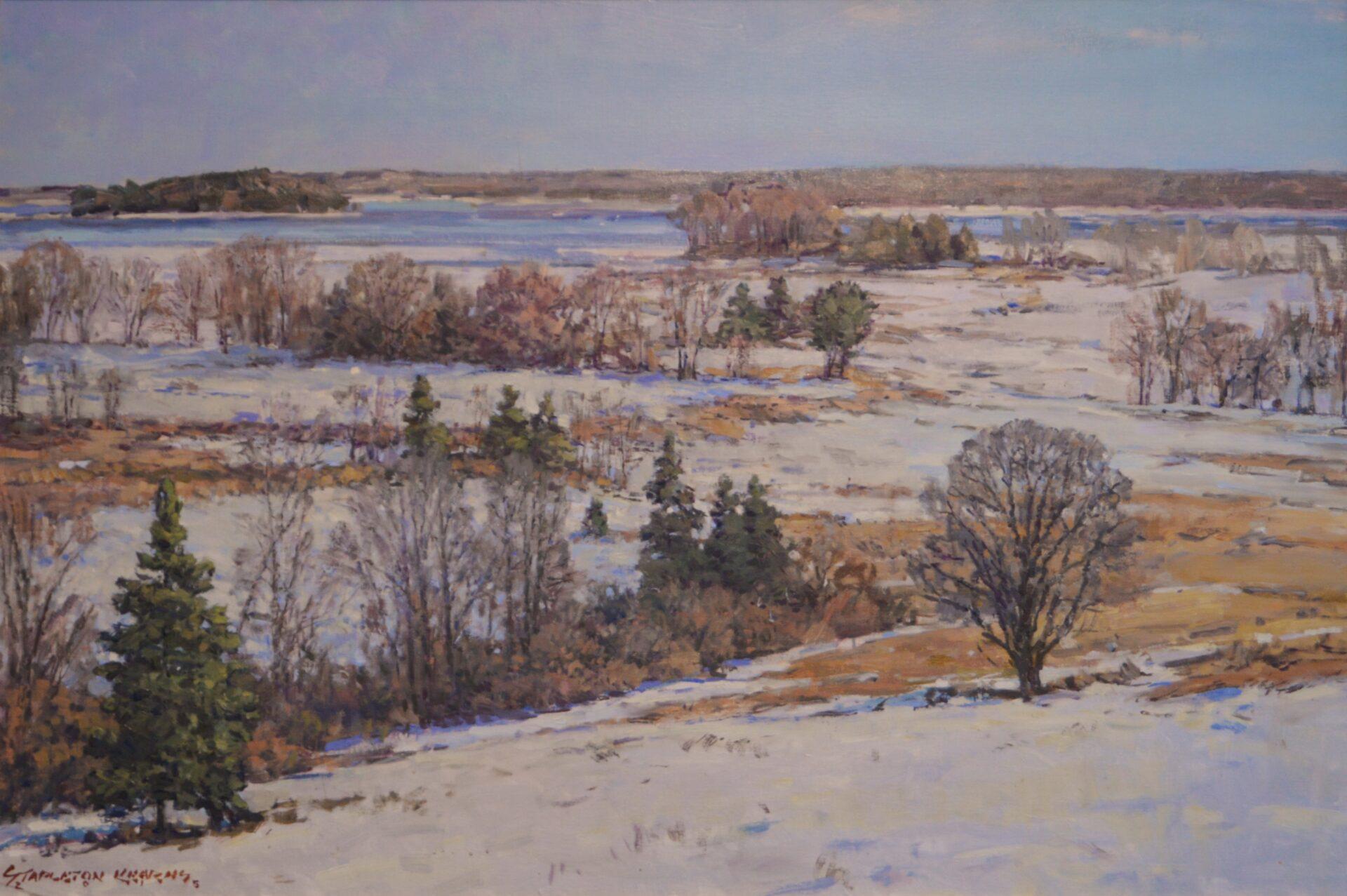 Stapleton Kearns - Winter Fields