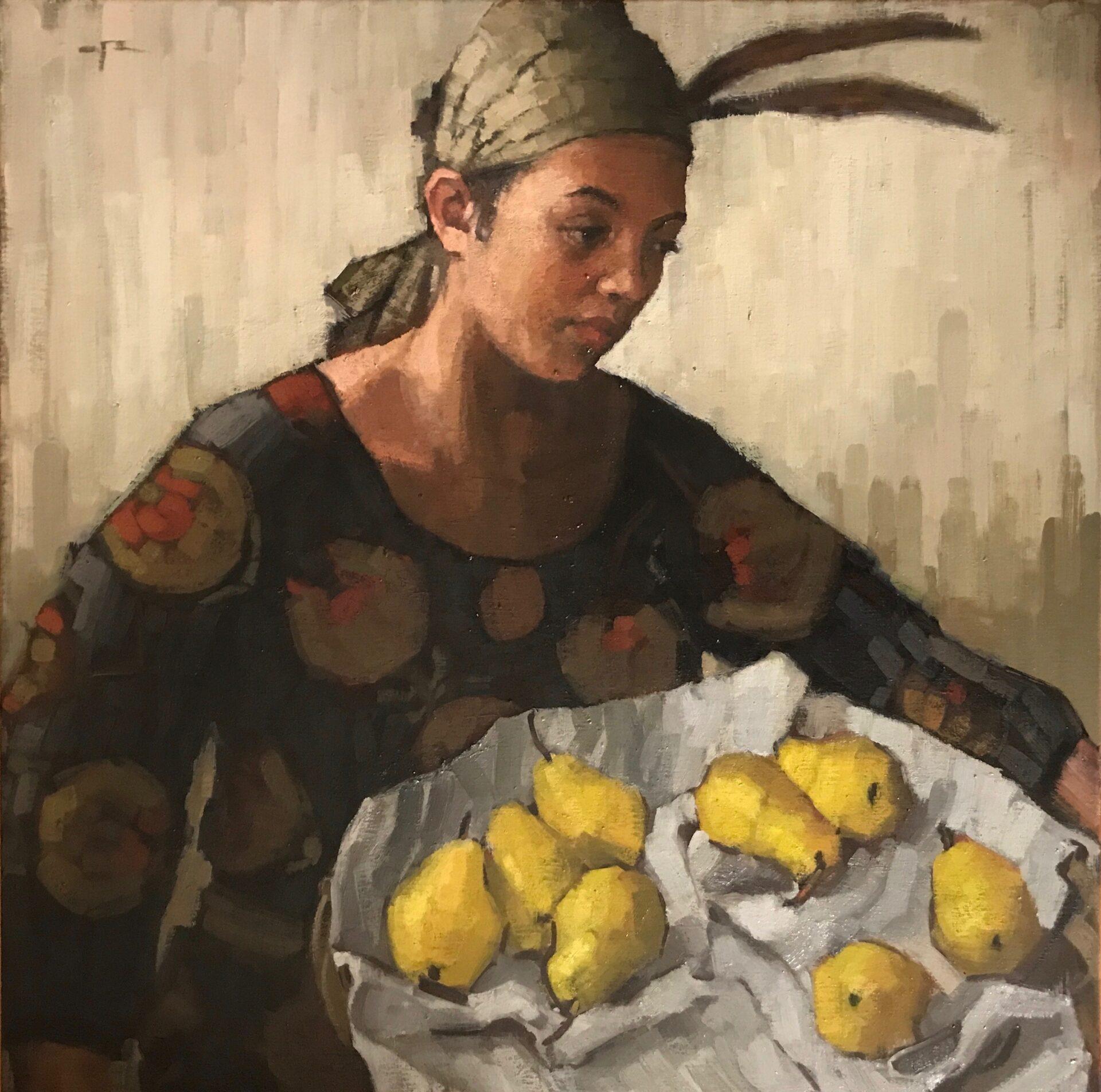 Paula Rubino - Iris Holding Pears