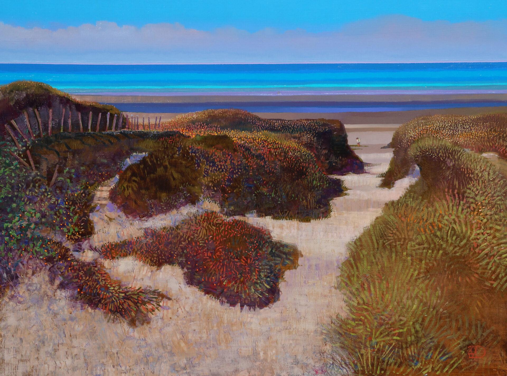 Ton Dubbeldam - Normandy Beach