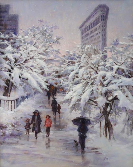Hagop Keledjian - Flatiron Snow
