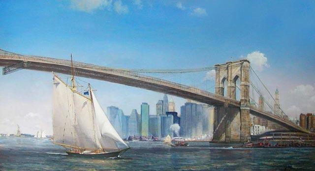 Peter Layne Arguimbau - Brooklyn Bridge
