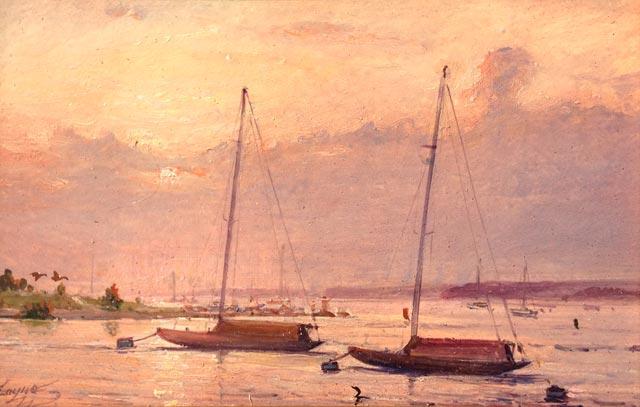 Peter Layne Arguimbau - Watch Hill Evening Light