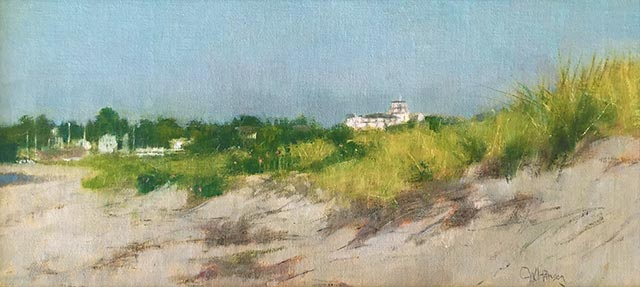 Curt Hanson - Ocean House in the Distance