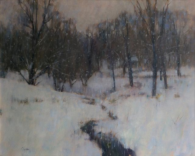 Curt Hanson - Snowy Hillside