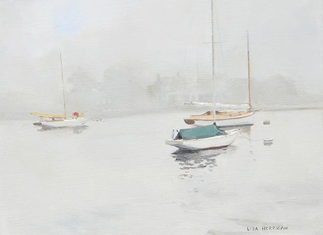 Lisa Horrigan - Calm Morning Triptych C