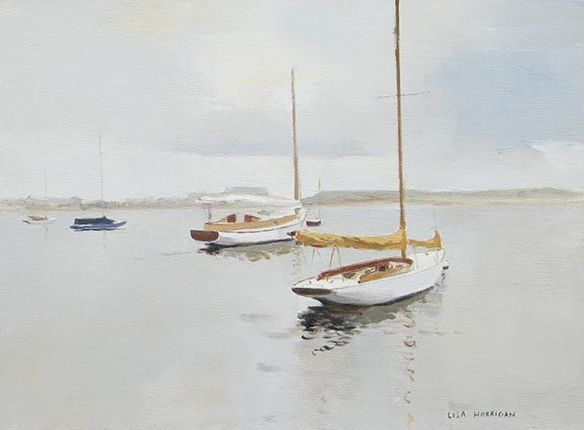 Lisa Horrigan - Calm Morning Triptych A