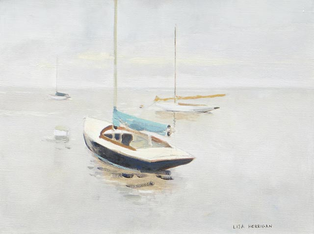 Lisa Horrigan - Calm Morning Triptych B