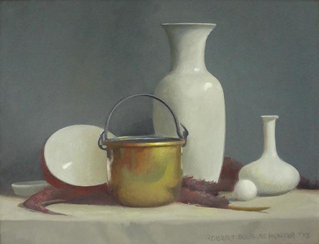 Robert Douglas Hunter - Arrangement with a Brass Bucket