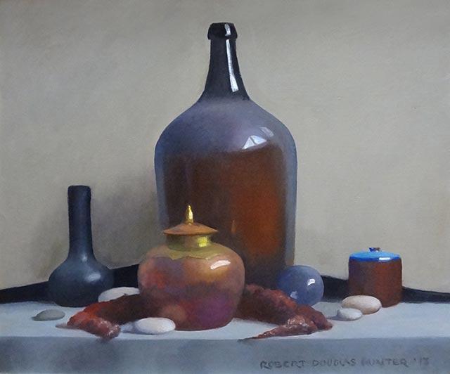 Robert Douglas Hunter - Metal, Glass and Beach Stones