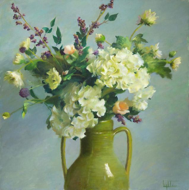 Jean Lightman - Hydrangeas and Berries