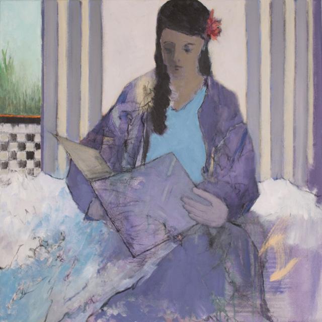 Liz Gribin - Draped in Lavender