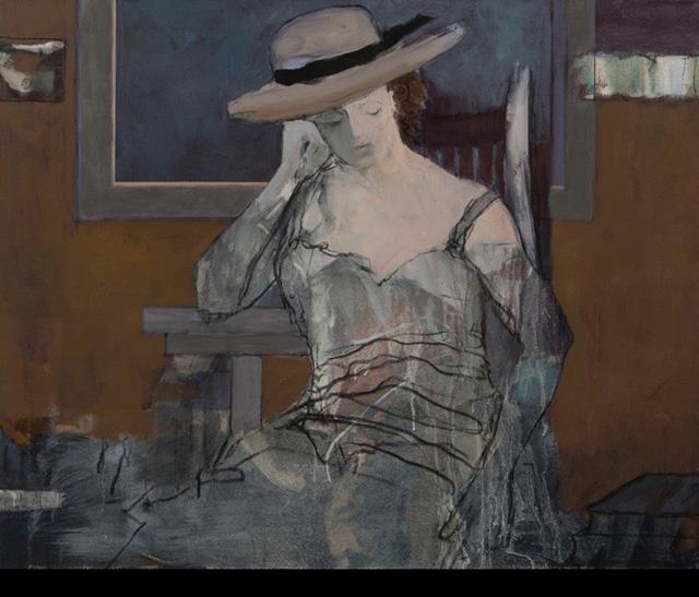 Liz Gribin - Pensierosa in Thought
