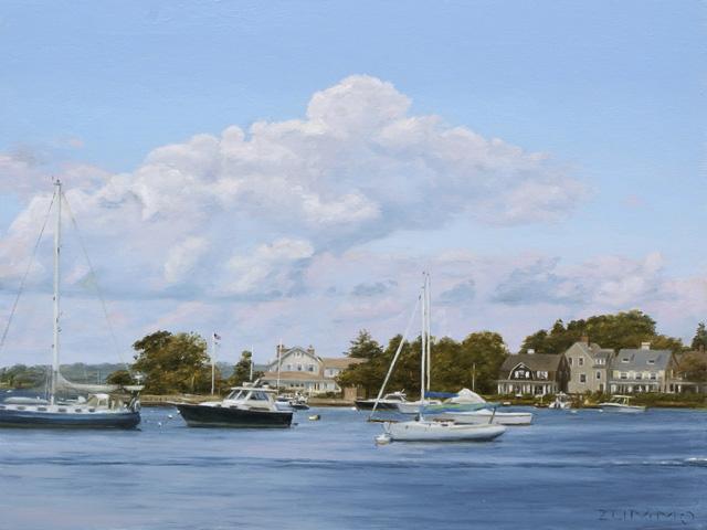 Lori Zummo - Sunset Across the Harbor