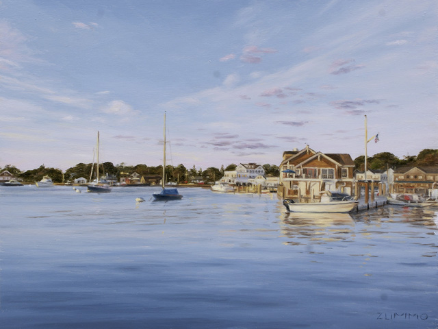Lori Zummo - Sunset on the Harbor