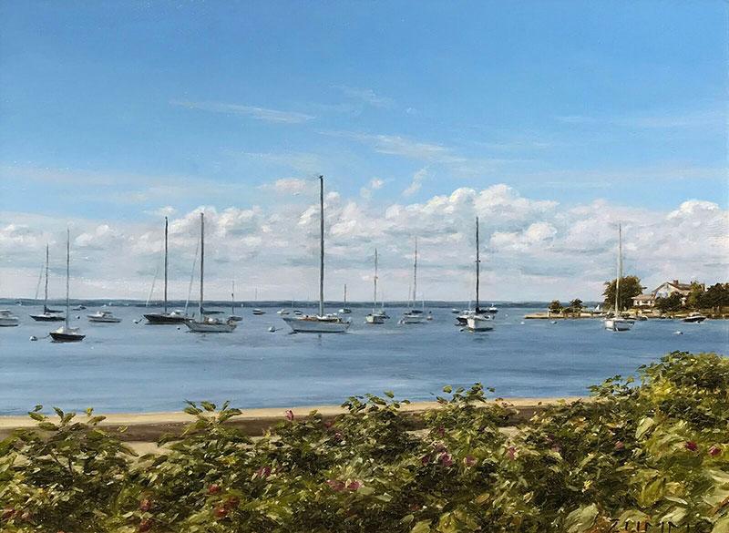 Lori Zummo - Clouds on the Harbor