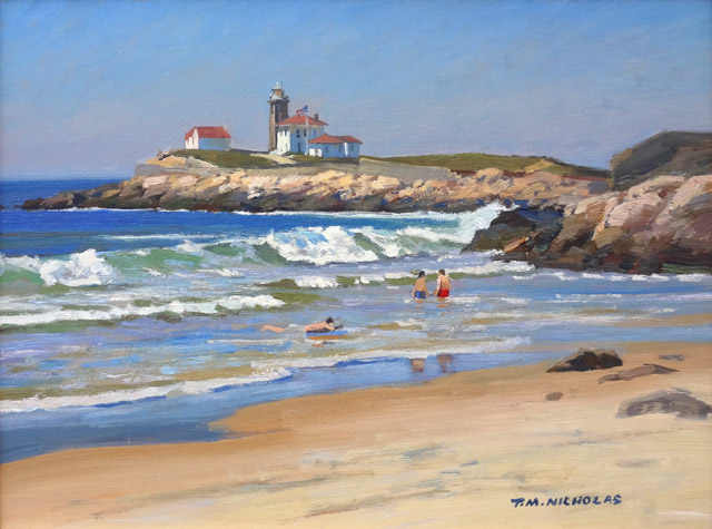 T.M. Nicholas - Watch Hill Lighthouse