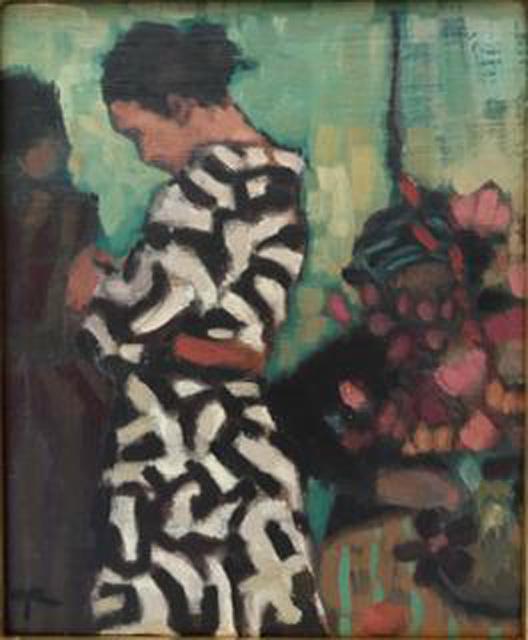 Paula Rubino - Three Women in Shop