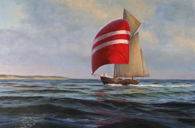 Ronald Tinney - Leaving Port