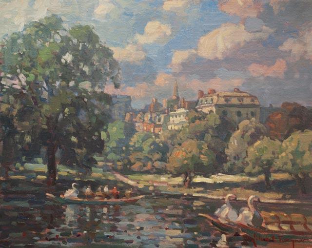 John C. Traynor - Floating like a Swan