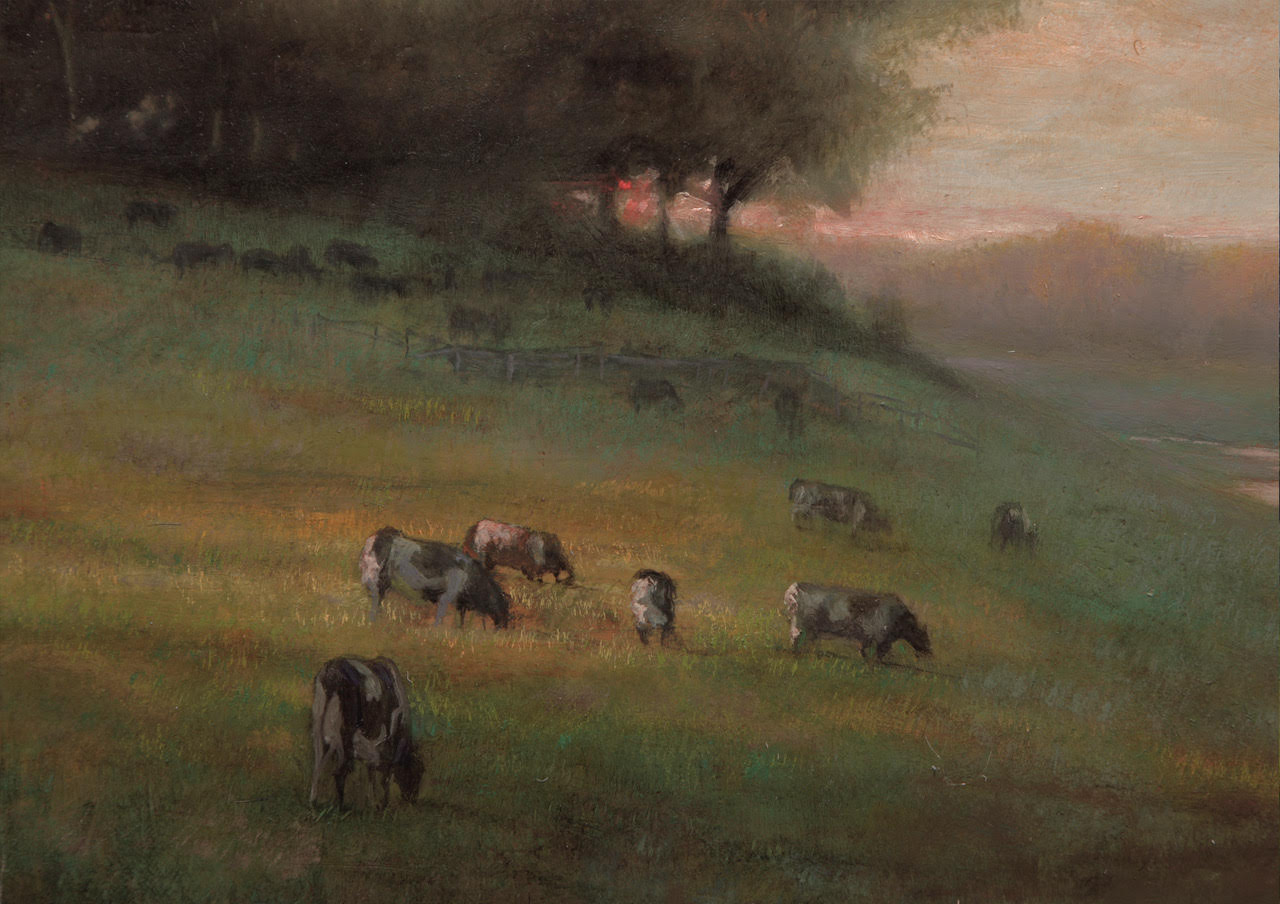Thomas Kegler - Pasture Sunset, John 5:35