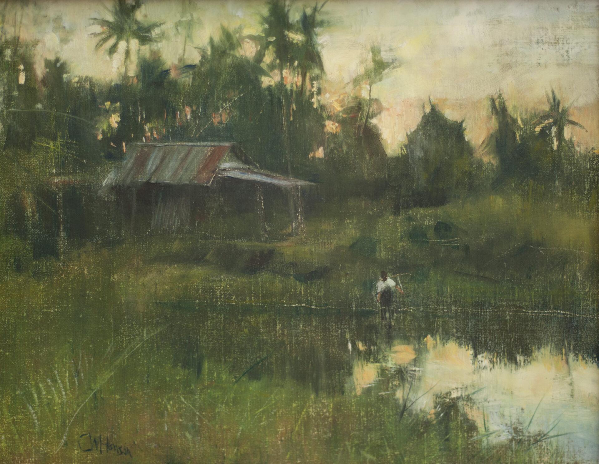 Curt Hanson - Reflections at Dusk