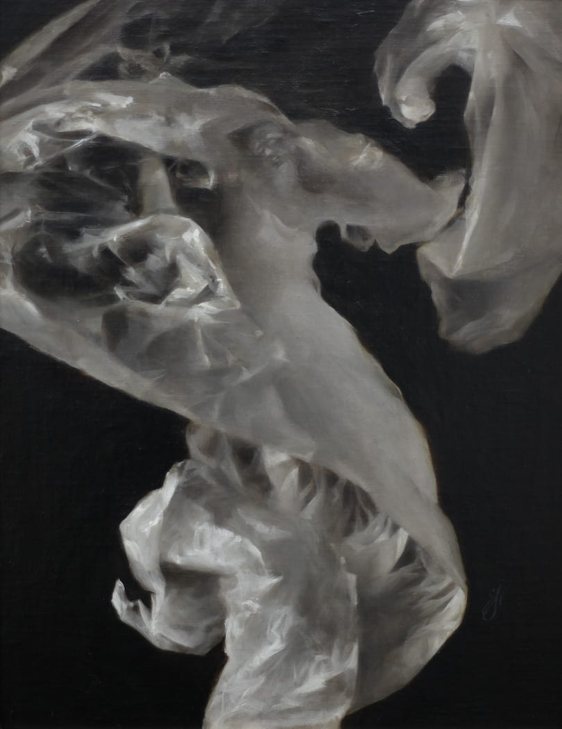 Sadie Valeri - Wax Paper Figure Study