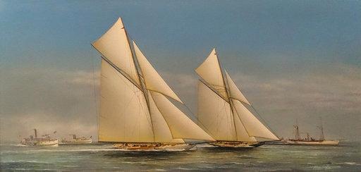 Richard Lane - America's Cup 1899