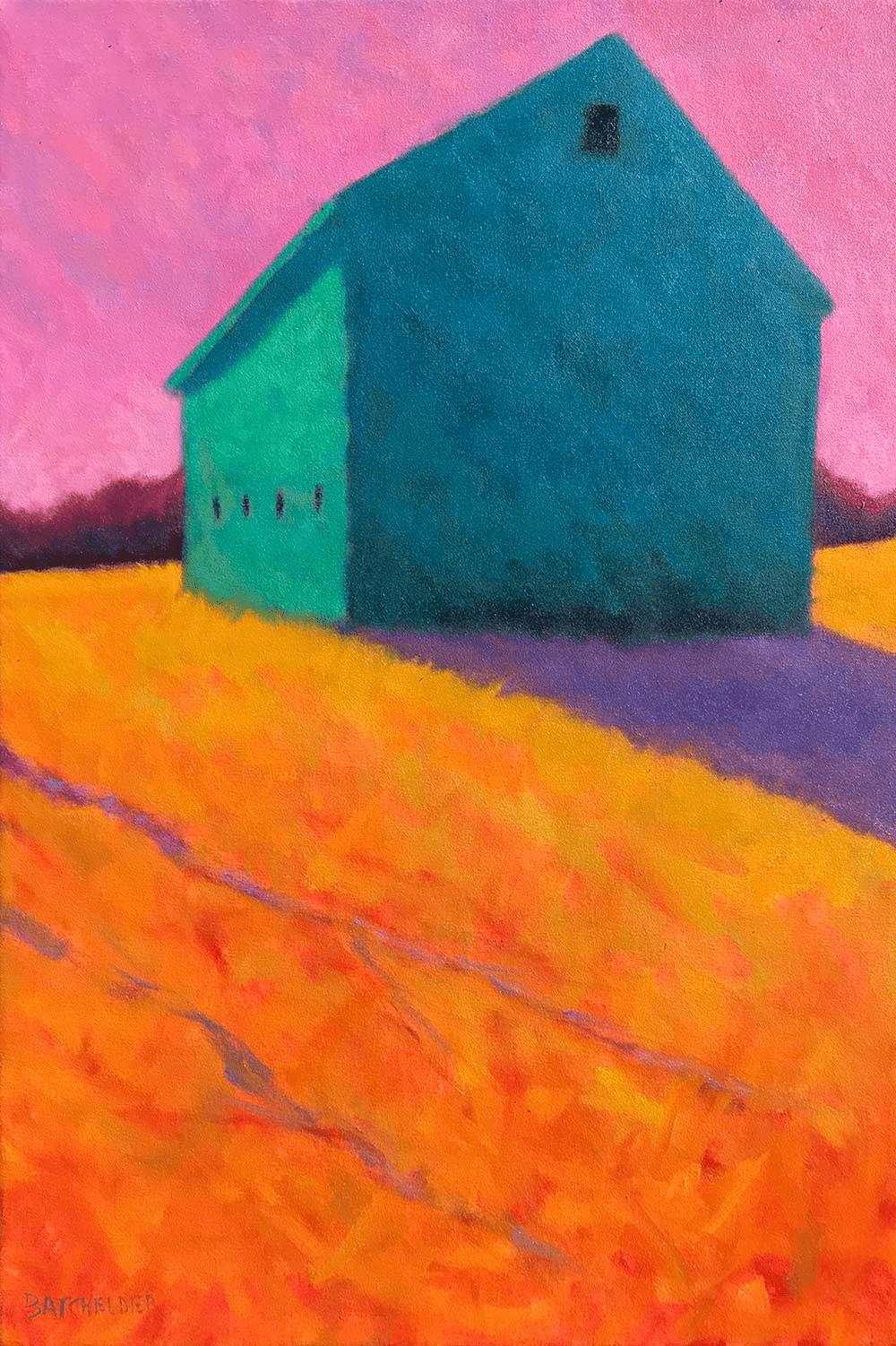 Peter Batchelder - Rose Sky