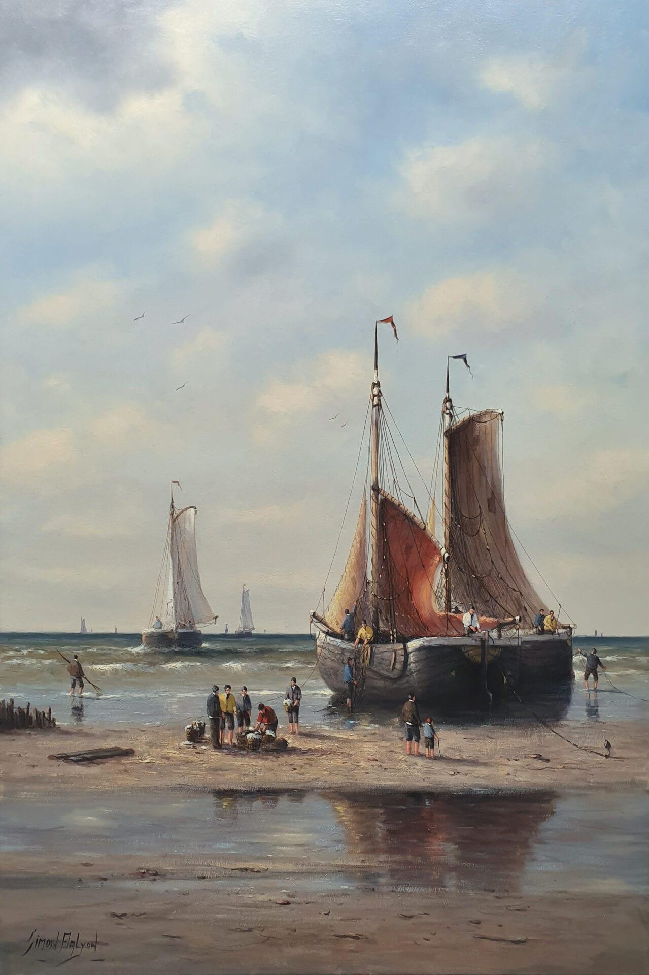Simon Balyon - Hard Working on the Dutch Coastline