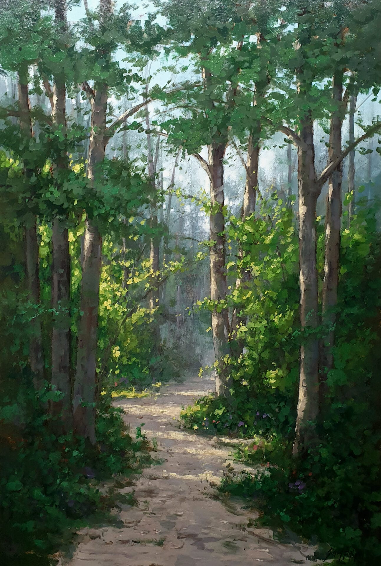 Simon Balyon - Sunlight in the Forest