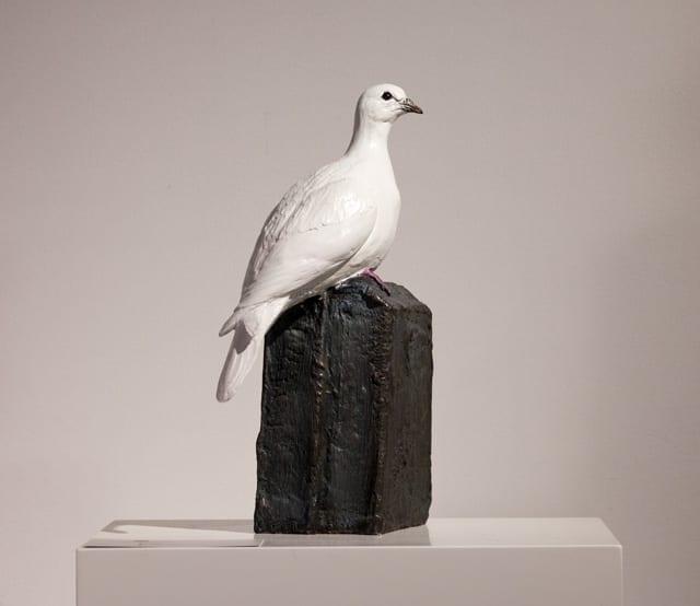 "Noah's Messenger I | Catherine K. Ferrell | Bronze | 14 x 8 x 4.5"""