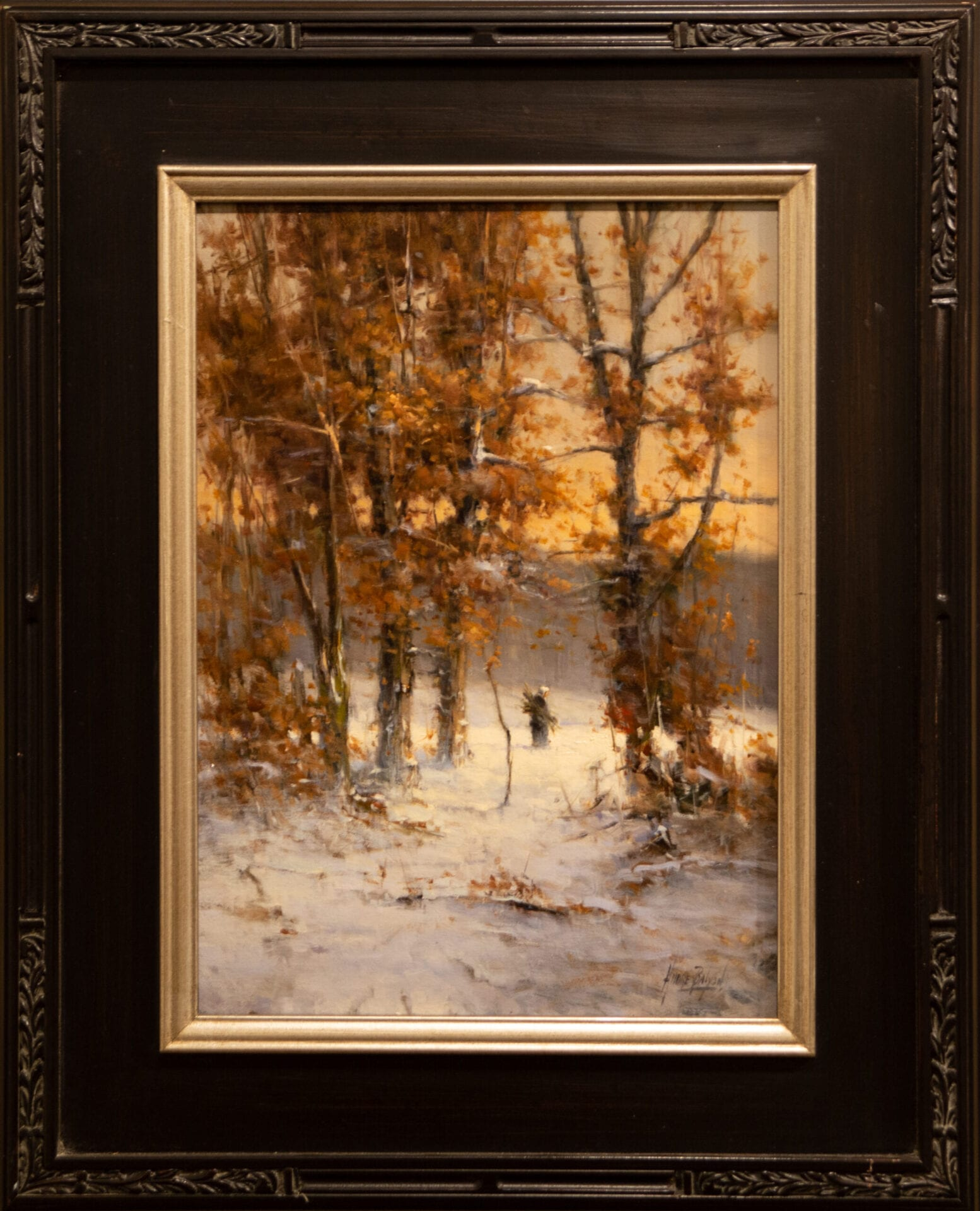 In a Winter's Forest | Andre Balyon | Oil | 19 x 14""