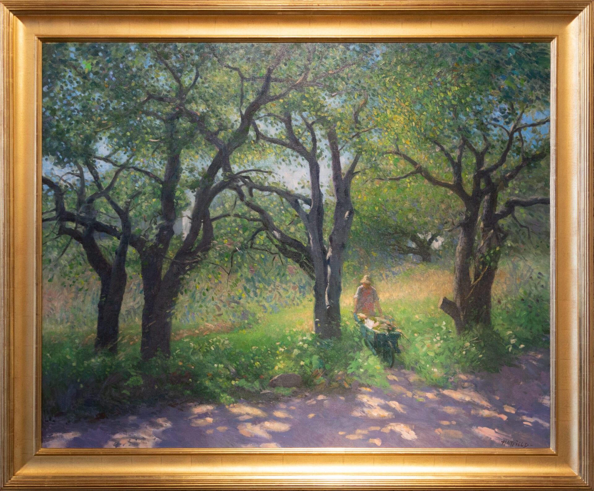 "Among the Trees | David Hatfield | Oil | 40 x 50"""