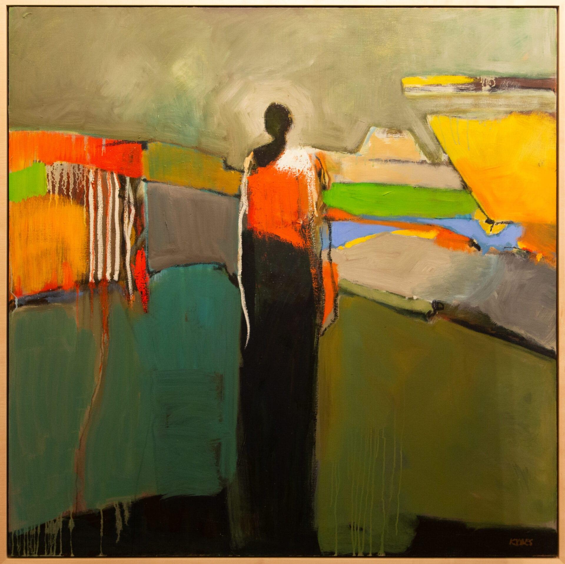 "My World | Kathy Jones | Oil | 48 x 48"""