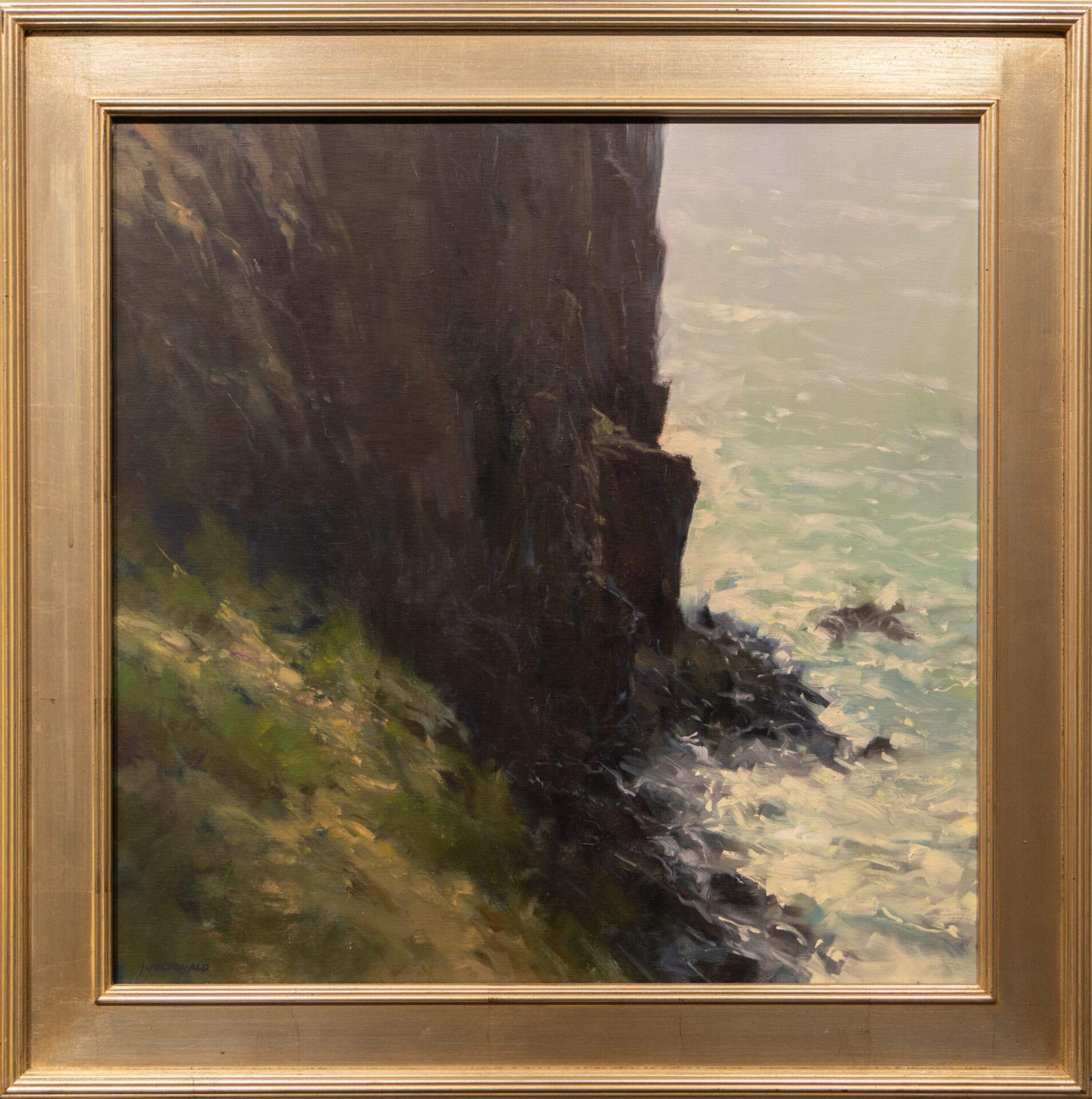 "Against the Shore | John MacDonald | Oil | 24 x 24"""