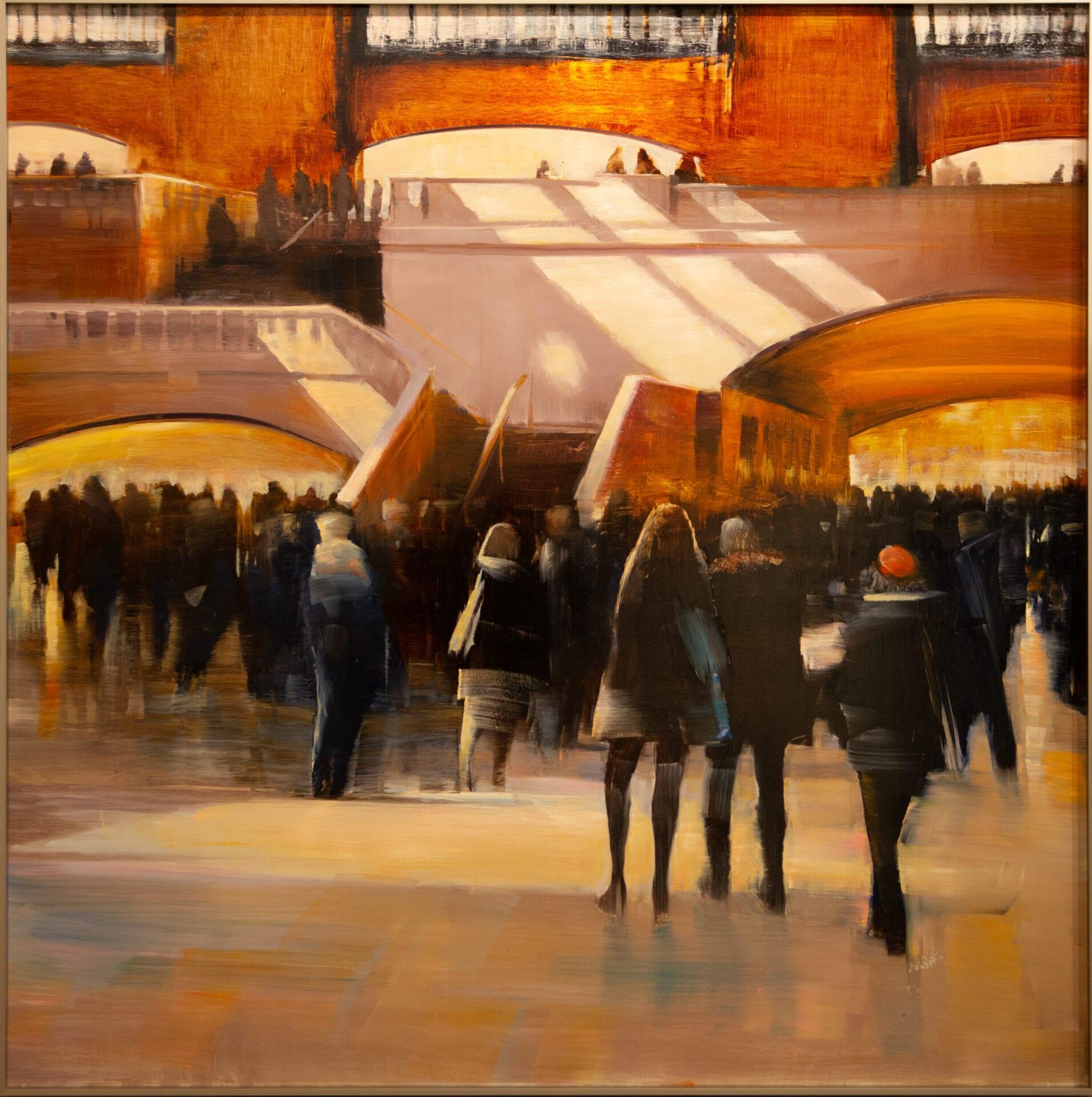 David Dunlop - Grand Central Station, Sun Stripes