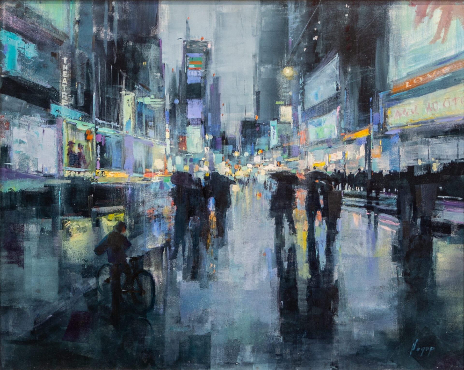 Hagop Keledjian - Times Square NY