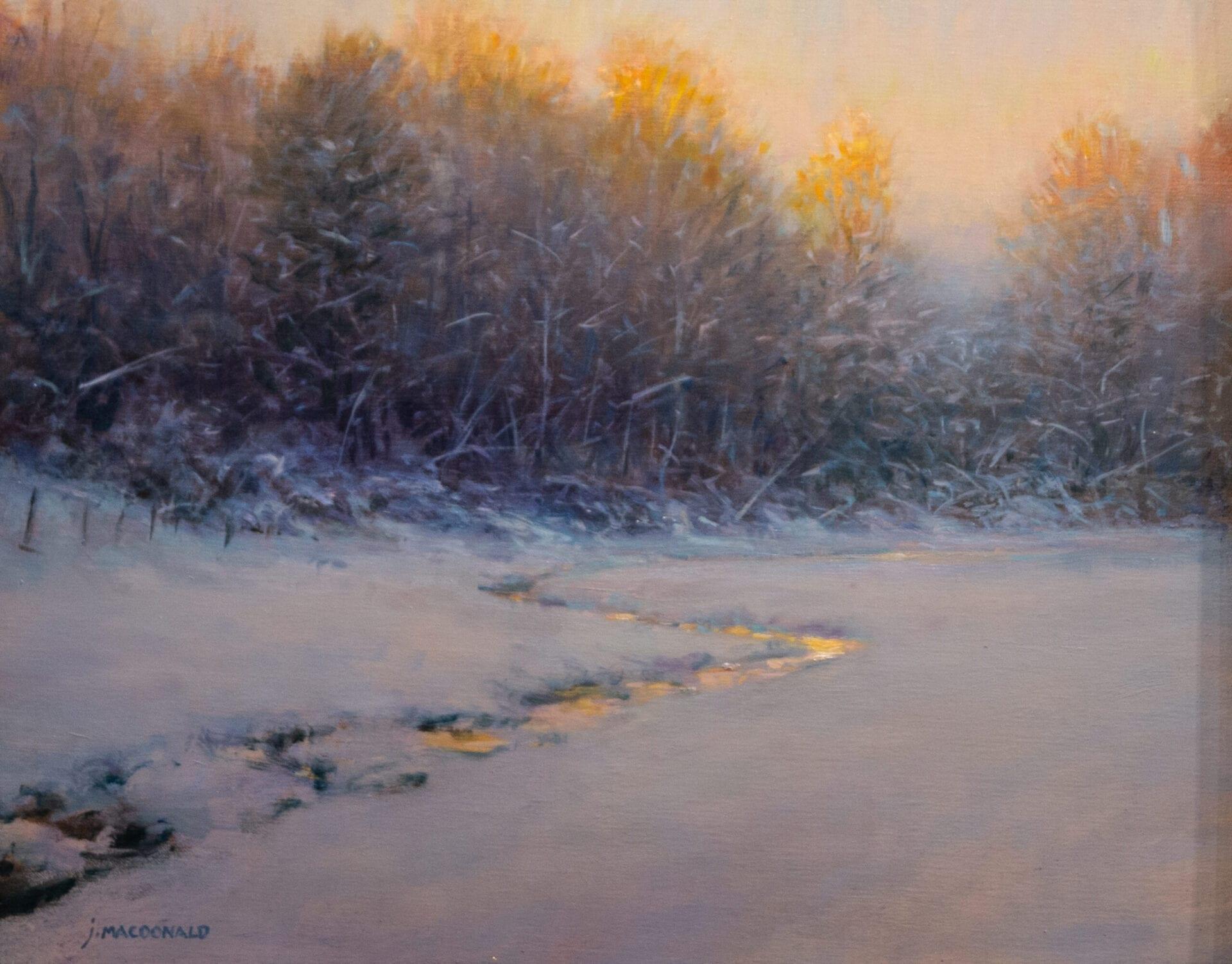 John MacDonald - Deep Winter Dusk