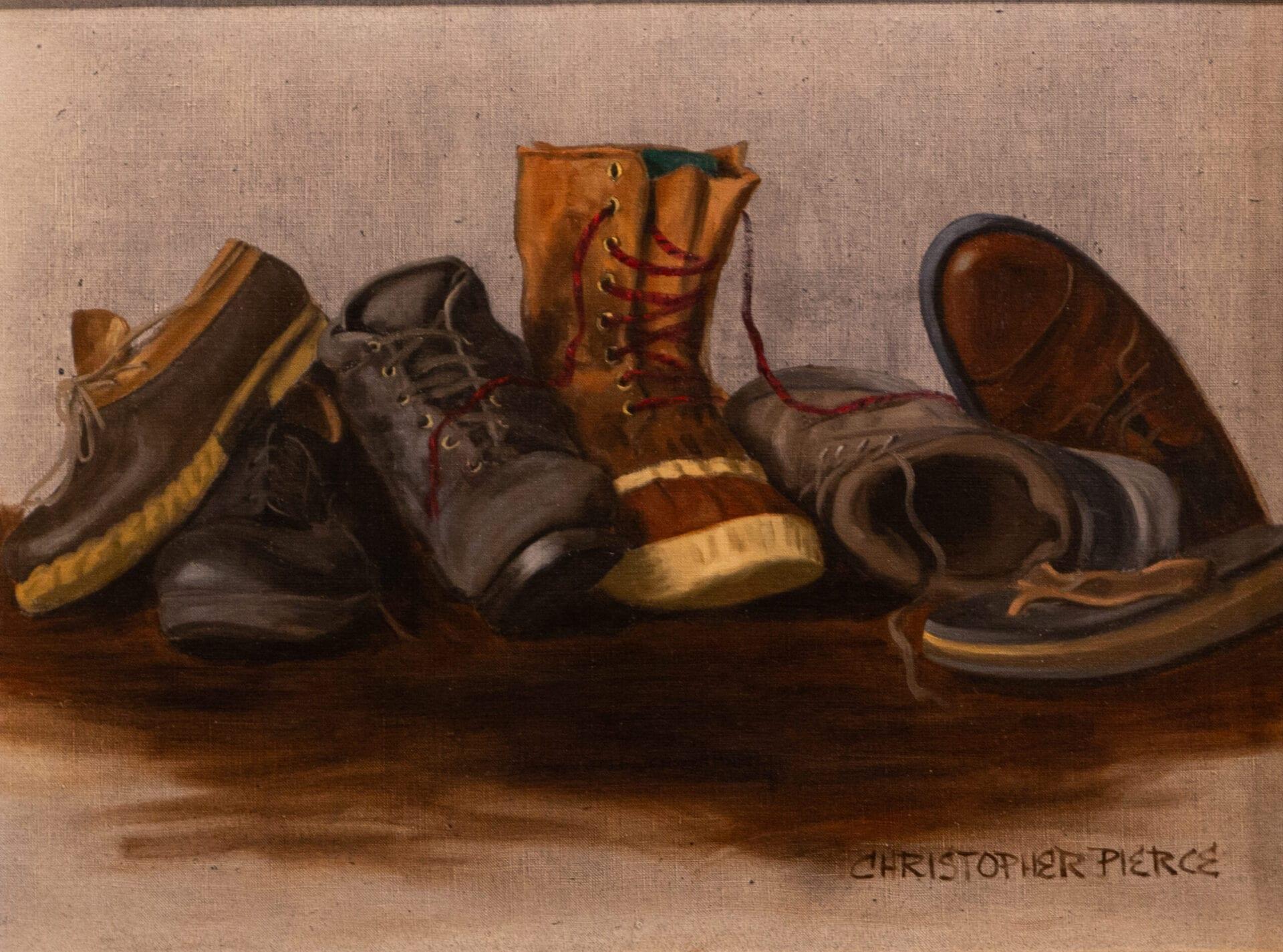 Christopher Pierce - My Left Feet