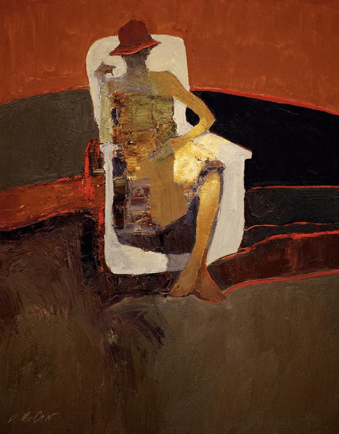 Dan McCaw - Seated Figure
