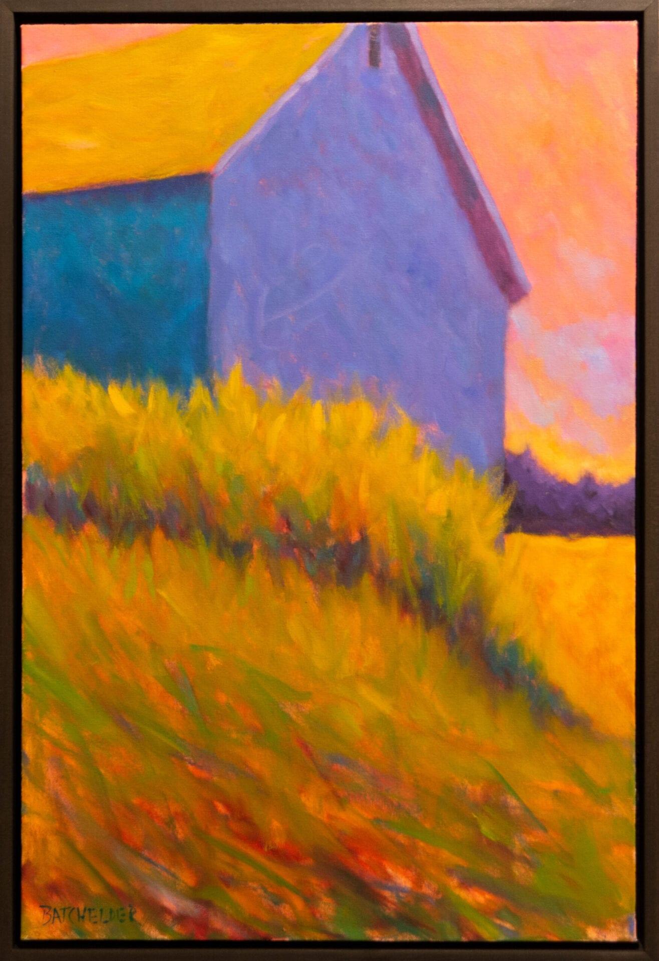 "Northern Dusk | Peter Batchelder | 30 x 20"" | Oil"